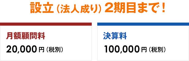 フルサービスの株式会社設立を実質2,000円で承ります。